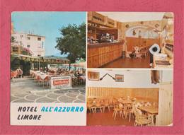 Limone Del Garda. Taverna Hotel All'Azzurro- Standard Size, Divided Back, Ed.Brunner & C. N° 201.082. - Andere Städte
