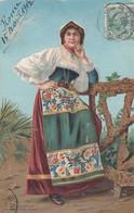 ROMA-COSTUME TIPICO-CARTOLINA VIAGGIATA IL 15-4-1906 - Autres