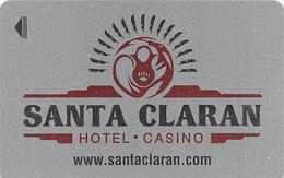 Santa Claran Casino - Espanola, NM - Hotel Room Key Card - Chiavi Elettroniche Di Alberghi