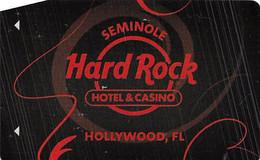 Seminole Hard Rock Casino - Hollywood, FL - Hotel Room Key Card - Chiavi Elettroniche Di Alberghi