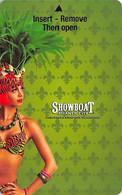 Showboat Casino - Atlantic City, NJ - Hotel Room Key Card - Chiavi Elettroniche Di Alberghi
