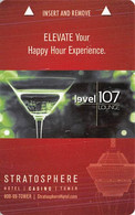 Stratosphere Casino - Las Vegas, NV - Hotel Room Key Card - Chiavi Elettroniche Di Alberghi