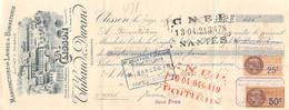 3211  37-0331   1927 MANUFACTURE DE LAINES ET BONNETERIE THIBAUD & DURAND A CLISSON - M. ORILLARD A CERNAY - Lettres De Change
