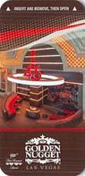 Golden Nugget Casino - Las Vegas, NV - Narrow Hotel Room Key Card - Chiavi Elettroniche Di Alberghi