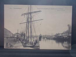 59355 . DUNKERQUE . QUAI DE LA CITADELLE ET BASSIN DU COMMERCE . TROIS MATS - Dunkerque
