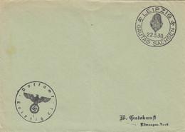 Postsache Kuvert 1938: Leipzig: Gautag Sachsen - Unclassified