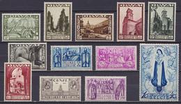 Belgique - N°363/74 ** Deuxième Orval 1933 (avec Certificat Michaux) - Unused Stamps