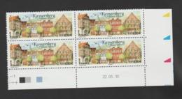 "FRANCE / 2018 / Y&T N° 5243 ** : ""Touristique"" (Kaysersberg - Haut-Rhin) X 4 - Coin Daté 2018 05 22 - 2010-...."
