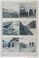 L'alpinisme - Le Mont Blanc Et Les Glaciers Des Bossons Et Du Taconnaz - Page Original - 1910 - Historical Documents