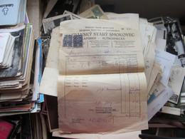 Stary Smokovec Tatrafured Altschmecks  Klimatikus Gyogyhely  Magas Tatra 1932 Tax Stampd - Autres