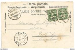 169 - 21 - Carte Envoyée De Altdorf 1901 - Covers & Documents