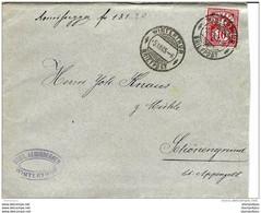 87 - 26 - Enveloppe Envoyée De Winterthur 1905 - Covers & Documents