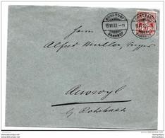 87 - 21 - Enveloppe Avec Superbes Cachets à Date De  Burgdorf Bahnhof §903 - Covers & Documents
