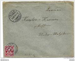 87 - 24 - Enveloppe Envoyée De Wald (Zürich) 1897 - Covers & Documents