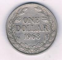 1 DOLLAR 1968 LIBERIA /3721/ - Liberia