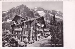 1658/ Champery, Hotel Des Alpes - VS Valais