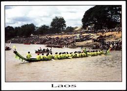 Laos PC 2002 Vatchan Boat Race Festival - Laos