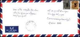 Laos Air Mail Cover 2002 (15) - Laos