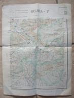 19032021- MAROC -OUJDA- CARTE DE RECONNAISSANCE AU 100.000è - EDITE A RABAT EN MARS 1928 - Other Plans