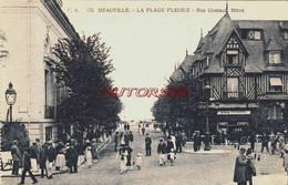 CPA DEAUVILLE - CALVADOS - RUE GONTAUT BIRON - Deauville