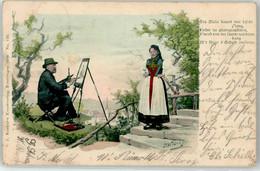 52900437 - Sign. Widmayer, R. Maler Tracht - Altre Illustrazioni