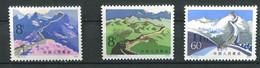 Chine ** N° 2224 - 2225 - 2227 - Paysage - Unused Stamps
