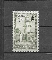 1938 Cote Français Des Somalis Y&T Nr° 149 (**) - Somalia (1960-...)