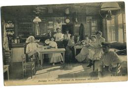 CPA 78 Poissy Interieur Du Restaurant Menager Rare - Poissy