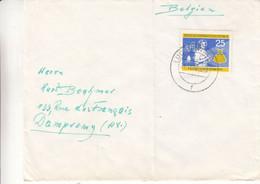 Allemagne - République Démocratique - Lettre De 1960 - Oblit Lückenwalde - Laborante-confection De Vêtements-valeur 28 € - Briefe U. Dokumente