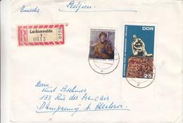 Allemagne - République Démocratique - Lettre Recom De 1964 - Oblit Lückenwalde - - Briefe U. Dokumente