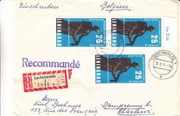 Allemagne - République Démocratique - Lettre Recom De 1964 - Oblit Lückenwalde - Valeur 20 Euros - Briefe U. Dokumente