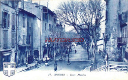 CPA ANTIBES - COURS MASSENA - Antibes