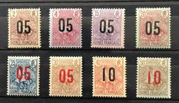 GUINÉE 1912 - NEUF*/MH - Série Complète YT 55 / 62 - LUXE - CV 17 EUR - Unused Stamps