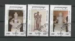 Cambodja 1994 Khmer Culture Y.T. 1186/1188 (0) - Cambodia