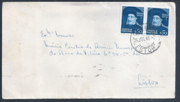 Infante D. Henrique. Estoril Letter With Stamps From Infante D. Henrique 1949. Discoveries. Entdeckungen. - Covers & Documents