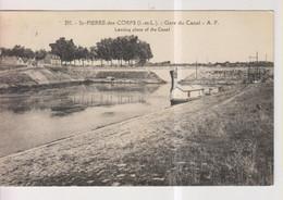 CPA-37-Indre Et Loire- SAINT-PIERRE-des-CORPS- Gare Du Canal- - Altri Comuni