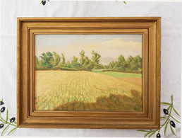 Tableau Signé Charles Lacoste 1938 - Oils