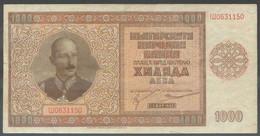 Ref. 6831-7337 - BIN BULGARIA . 1942. BULGARIA 1000 LEVA 1942 - Bulgarije