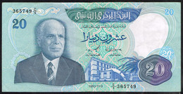 Ref. 4542-5045 - BIN TUNISIA . 1983. TUNISIE 20 DINARS 1983 - Tunisia