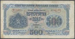 Ref. 7486-8010 - BIN BULGARIA . 1945. BULGARIA 500 LEVA 1945 - Bulgaria