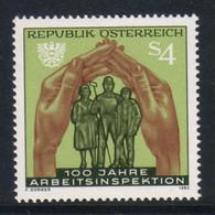 Austria - Oostenrijk 1983 100 Y. Arbeitsinspektion Y.T. 1564 ** - 1981-90 Ongebruikt