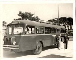 AUTOBUS . LA RENARDIERE -ST MANDRIER-TOULON . 10/09/1941 - Automobili