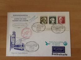 Block 5 Luftschiff D-LDFM Mülheim Ad Ruhr Briefmarkenausstellung 27.-8.1972. - Briefe U. Dokumente