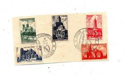 Fragment Cachet Strasbourg Foire 1951 Sur Eglise - Gedenkstempels