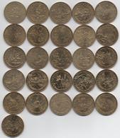 Grosse Collection De 26 Médailles Sans Double : Disney Disneyland Paris : Monnaie De Paris - Unclassified