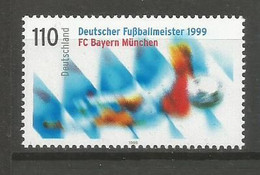 Timbre Allemagne Fédérale Neuf **  N 1906 - Nuovi