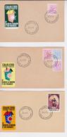 Charleroi Salon De La Maison Et Des Vacances 74/75/77 - Commemorative Labels