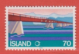 1978 **Islande  (sans Charn., MNH, Postfrish)  Yv  487Mi  534FA  571 - Nuevos