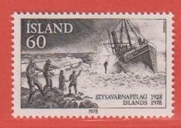1978 **Islande  (sans Charn., MNH, Postfrish)  Yv  489Mi  536FA  573 - Nuevos
