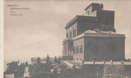 Cartolina - Postcard / Non Viaggiata - Unsent /  Napoli, Osservatorio Del  Vesuvio. - Napoli